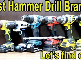 Best Cordless Hammer Drill Brand
