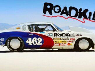 Classic Roadkill ~ 1,100hp Camaro Goes for a Landspeed Record