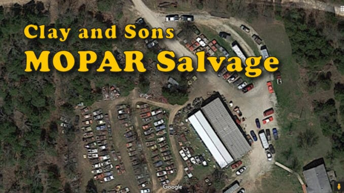 Clay and Sons MOPAR Salvage