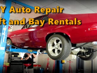 DIY Auto Repair Lift and Bay Rentals