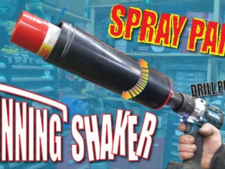 DIY Drill Powered Spray Paint Can Shaker