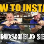 How To Install A Windshield Gasket Seal