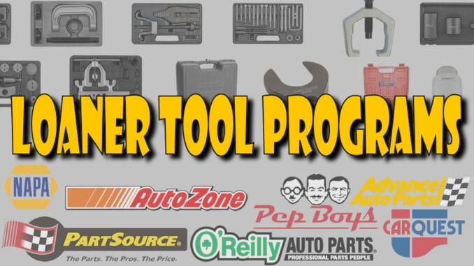 Loaner Tool Programs