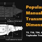 Popular Manual Transmission Dimensions