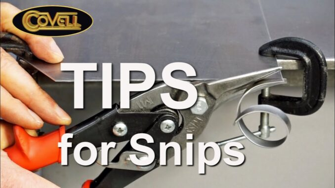 Ron Covell's Tips for Using Aircraft Snips