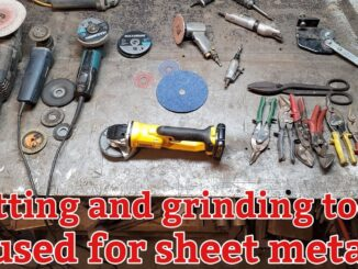 Sheet Metal Cutting and Grinding Tools