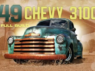 1949 Chevy 3100 Truck Full Build ~ Straight Six and Patina Paint