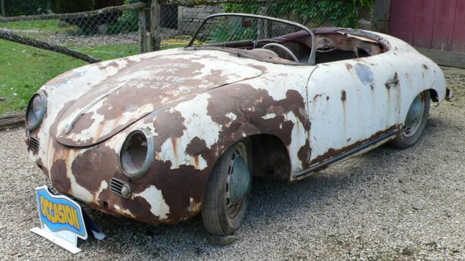 1955 Porsche 356 Pre-A Speedster Full Restoration