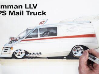 Chip Foose Hot Rods a USPS Mail Truck ~ Grumman LLV