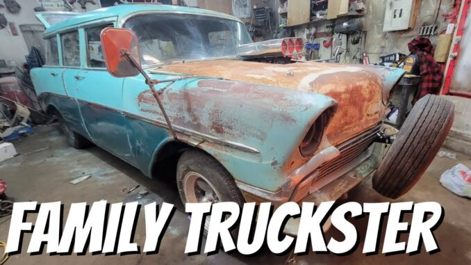 Full Griswold DD Speed Shop '56 Chevy Family Truckster