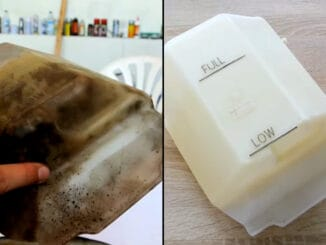 How To Clean, Whiten, and Restore a Coolant Overflow Tank