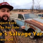 Cars For Sale at Willie's Salvage Yard in Earlsboro, OK