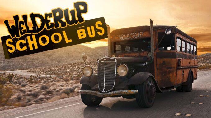 Steve Darnell's Vintage WelderUp School Bus