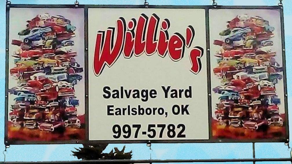 Willies Salvage Yard ~ Earlsboro Oklahoma