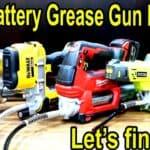 Best Cordless Grease Gun Brand