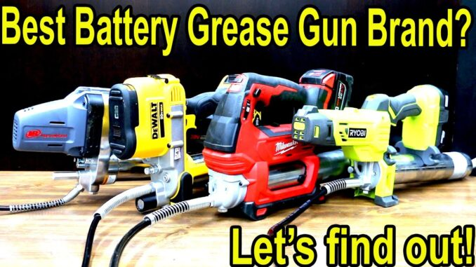 Best Cordless Grease Gun Brand