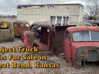 Chevy Ford Dodge IH Diamond T Project Truck Cabs For Sale