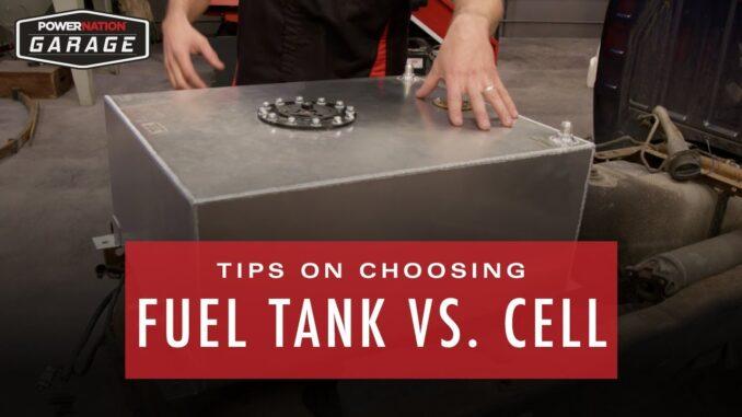 Fuel Cell vs. Fuel Tank