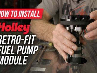 Holley Retro-Fit High-Pressure In-Tank Fuel Pumps For Stock Gas Tanks