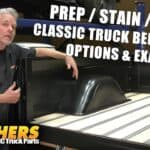 Classic Truck Bed Wood