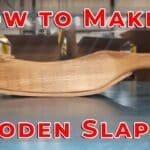 Homemade DIY Wooden Slapper for Metalwork