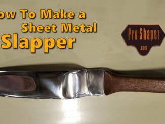 DIY Homemade Sheet Metal Slapper