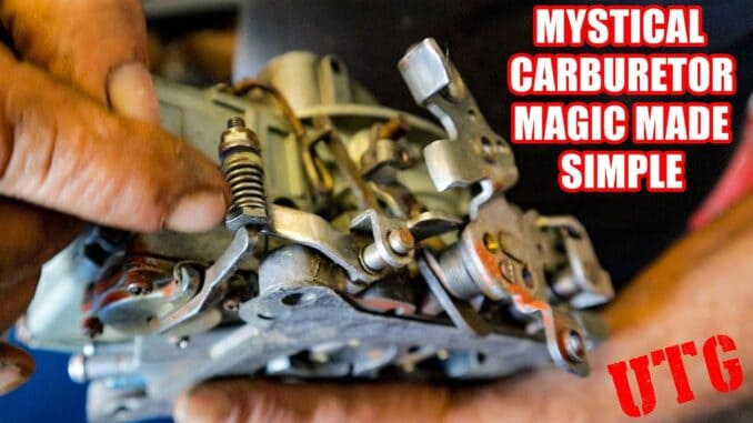How To Tune Out Carburetor Hesitation ~ Accelerator Pump Magic