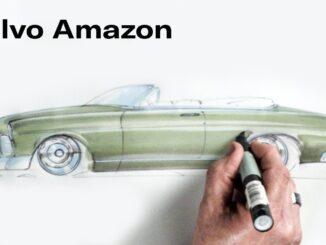 Refining the Volvo Amazon ~ Chip Foose Draws a Car