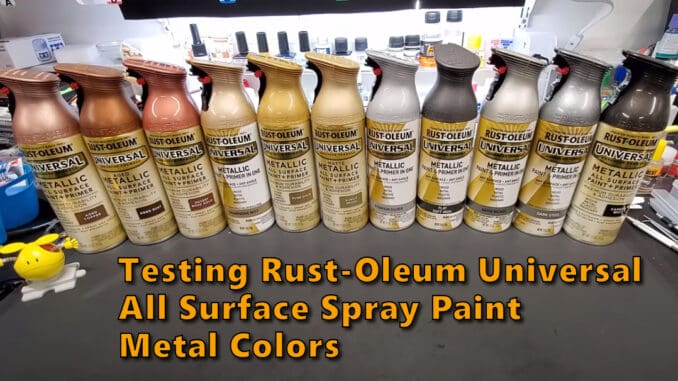 Rust-Oleum Universal All Surface Spray Paint Metal Colors
