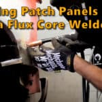 Welding Patch Panels with a Harbor Freight 125 Flux Core Welder