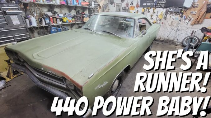 DD Speed Shop's Big Block 440 Powered 1968 Road Runner Build