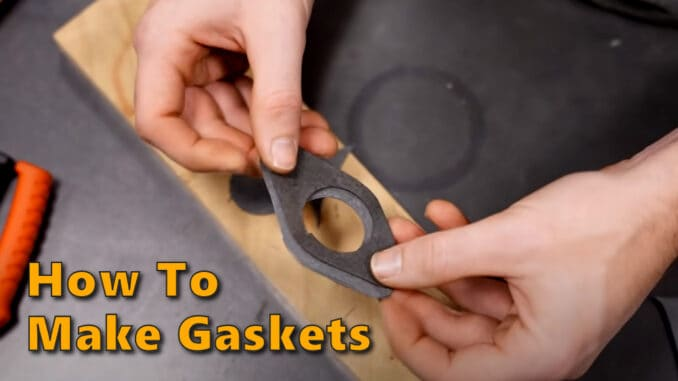 How To Make DIY Gaskets
