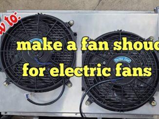Fan Shroud for Electric Fans