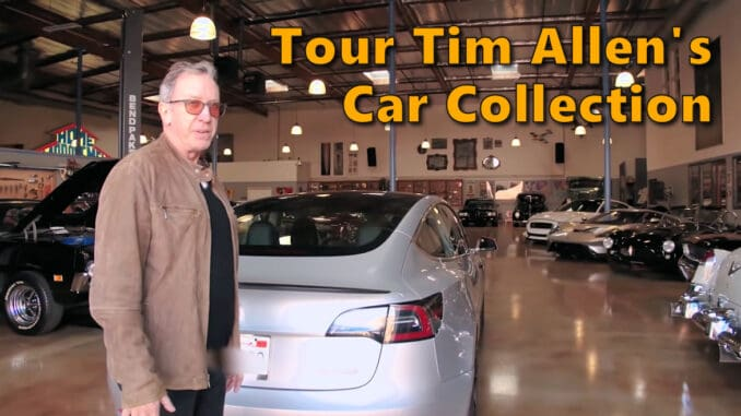 Tim Allen's Car Collection
