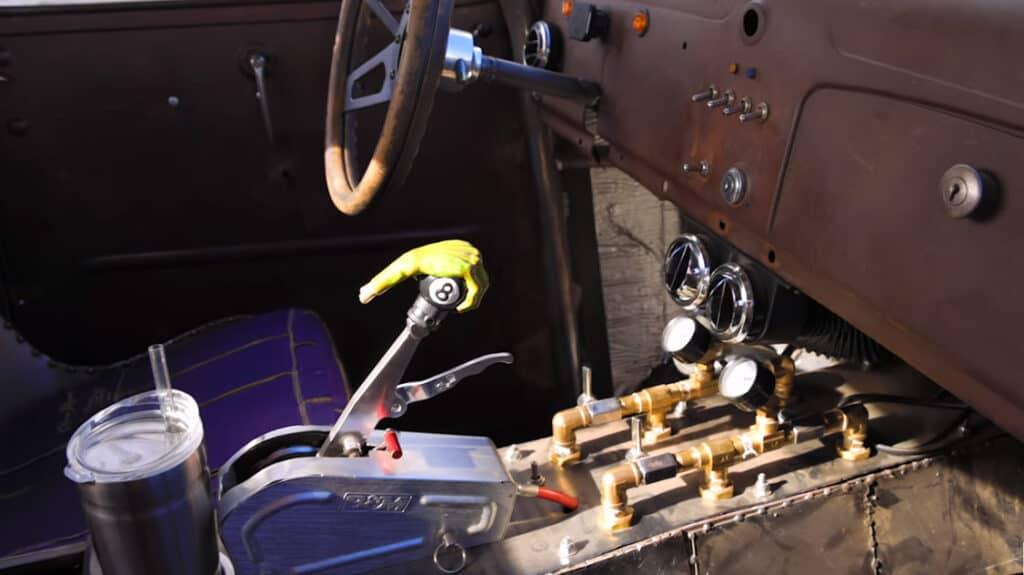1939 Chevy Rat Rod Interior