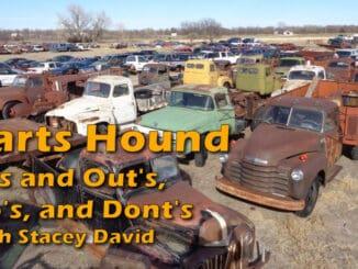 In's, Out's, Do's, and Dont's of Being a Parts Hound