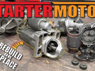 Starter Motor Testing and Troubleshooting