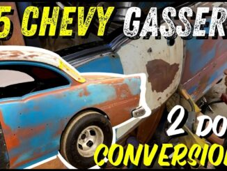 How This '55 Chevy Gasser Was Built Under $5K