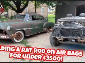 Chopped 1951 Chevrolet and 1999 GMC Jimmy Chassis Swap for $3500