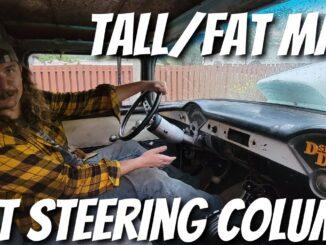 Inexpensive Universal Tilt Steering Column