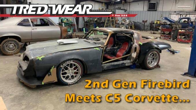 Translammed Firebird Corvette Swap