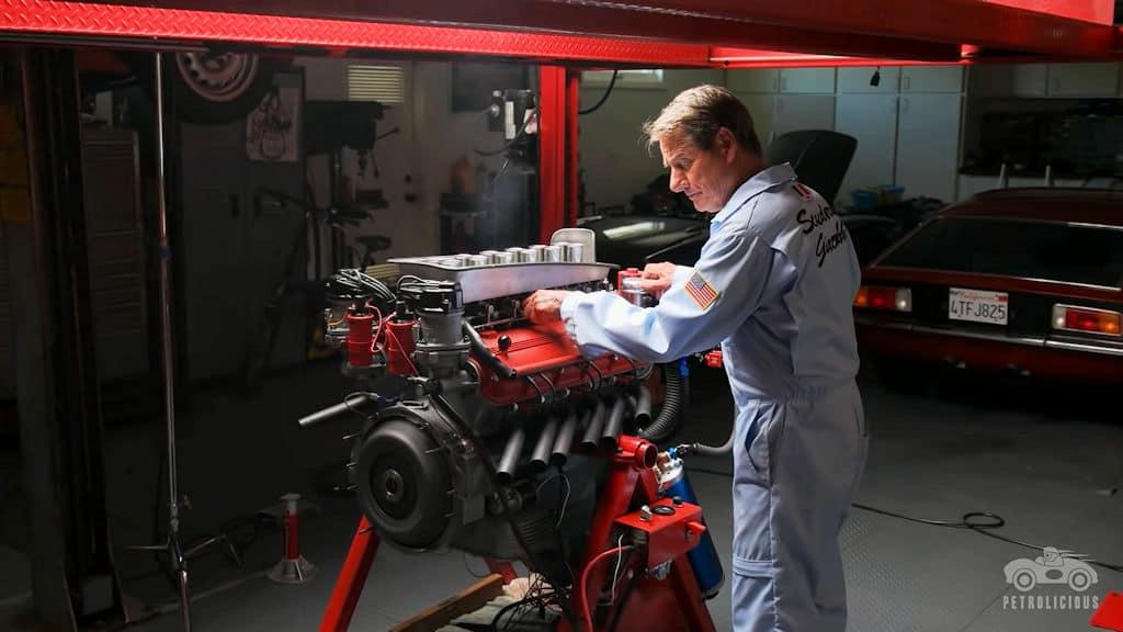1959 Ferrari 250 TR Engine