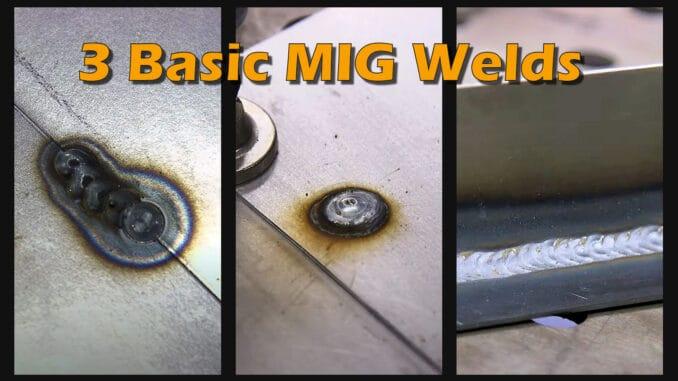 Stitch Weld, Plug Weld, and Normal Weld