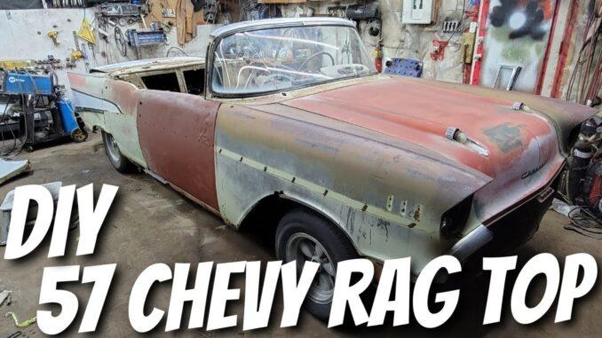 1957 Chevrolet Bel Air Project Car