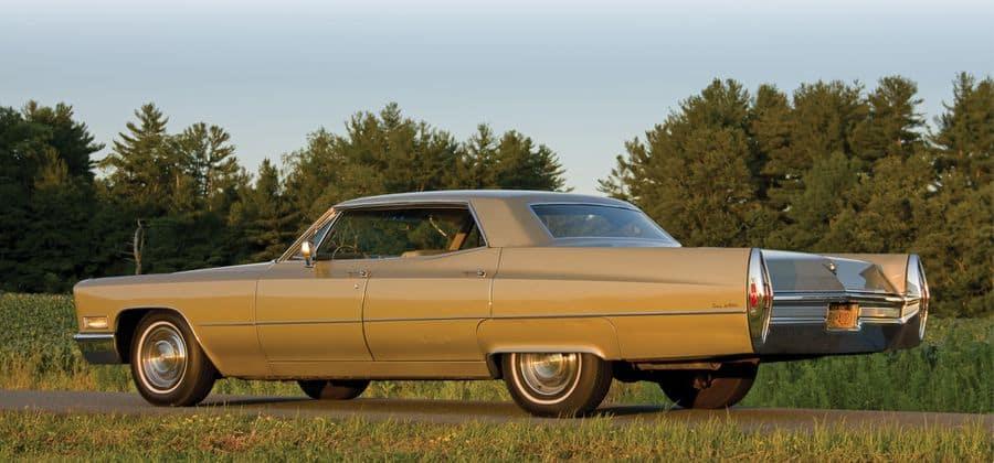 1968 Cadillac Sedan DeVille Rear View