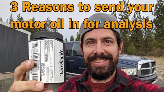 Motor Oil Analysis Kit