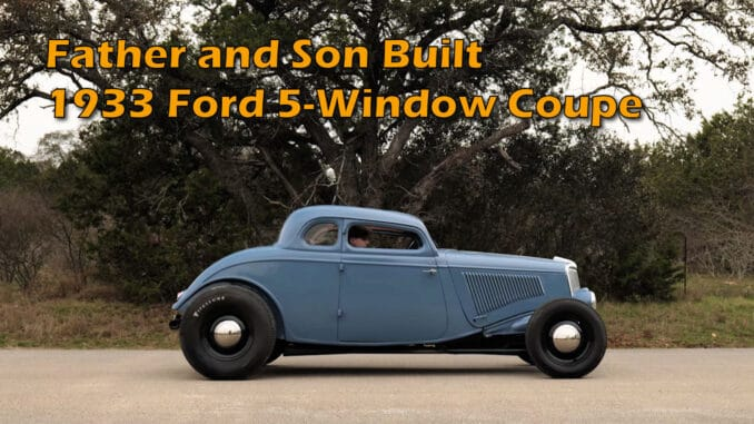 1933 Ford 5-Window Coupe Hot Rod