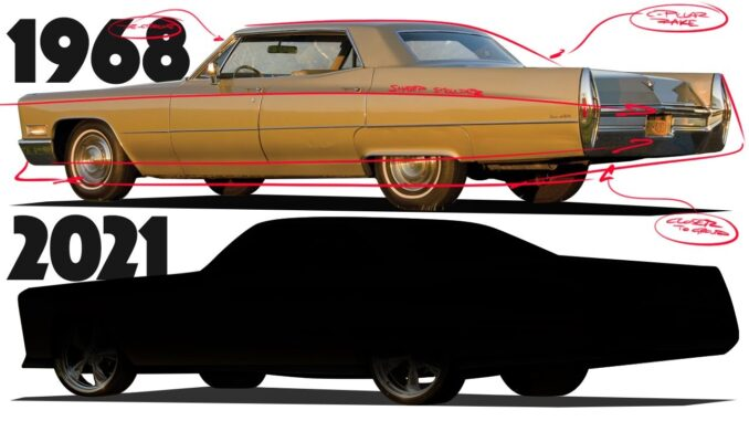 1968 Cadillac Sedan DeVille Hardtop