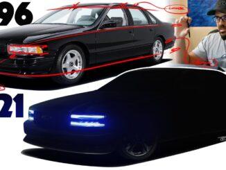 Black 1996 Chevrolet Impala SS