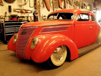 1937 Ford with 3 Inch Chop Top